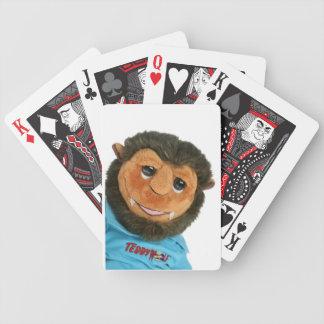 teddywolf bicycle playing cards