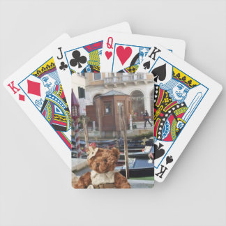 Teds in Venice Bicycle Playing Cards