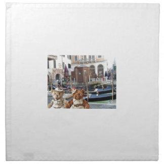 Teds in Venice Cloth Napkin