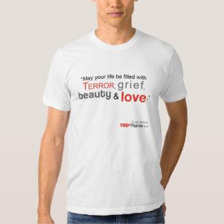 TEDx Rainier Men's White T-shirt - Chris Jordan
