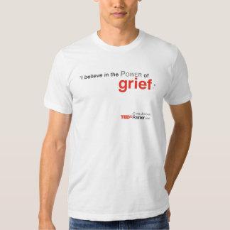 TEDx Rainier Men's White T-shirt - Chris Jordan2