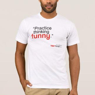TEDx Rainier Men's White T-shirt - Chriss Bliss2