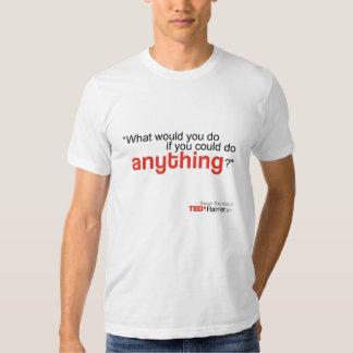 TEDx Rainier Men's White T-shirt -Sarah Stuteville