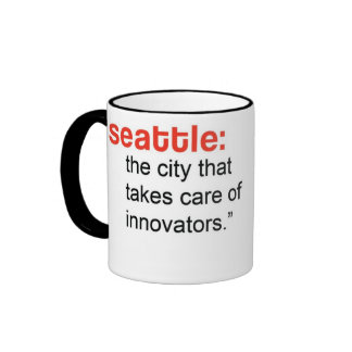 TEDxRainier Mug - Sarah Stuteville on Seattle
