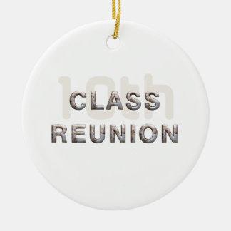 TEE 10th Class Reunion Ceramic Ornament