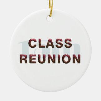 TEE 15th Class Reunion Ceramic Ornament