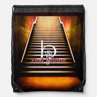TEE 1 First Edition Drawstring Backpack