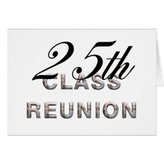 TEE 25th Class Reunion Card