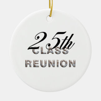 TEE 25th Class Reunion Ceramic Ornament