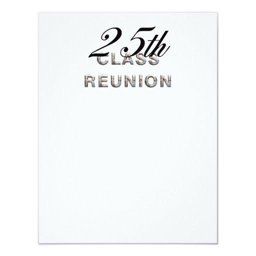 TEE 25th Class Reunion Custom Invite