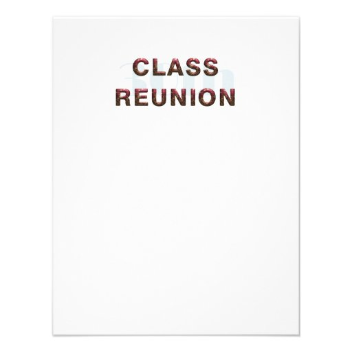 TEE 30th Class Reunion Personalized Invitations