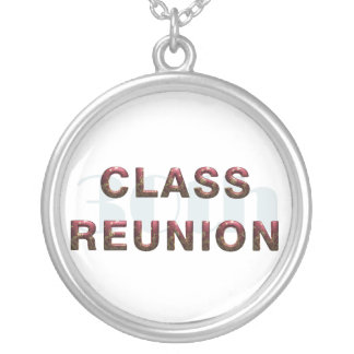 TEE 30th Class Reunion Silver Plated Necklace
