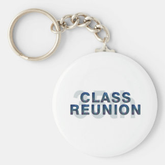 TEE 35th Class Reunion Basic Round Button Keychain