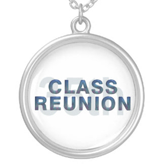 TEE 35th Class Reunion Round Pendant Necklace