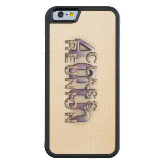 TEE 40th Class Reunion Carved Maple iPhone 6 Bumper Case