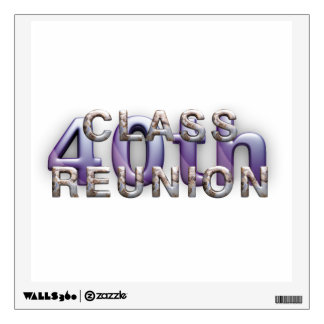 TEE 40th Class Reunion Wall Sticker