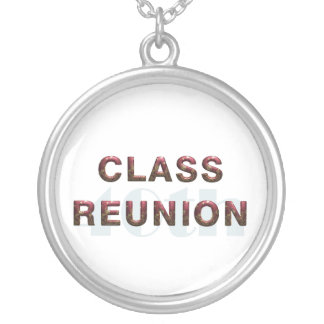 TEE 40th Classr Reunion Silver Plated Necklace