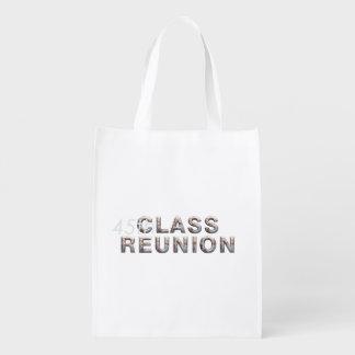TEE 45th Class Reunion Reusable Grocery Bag