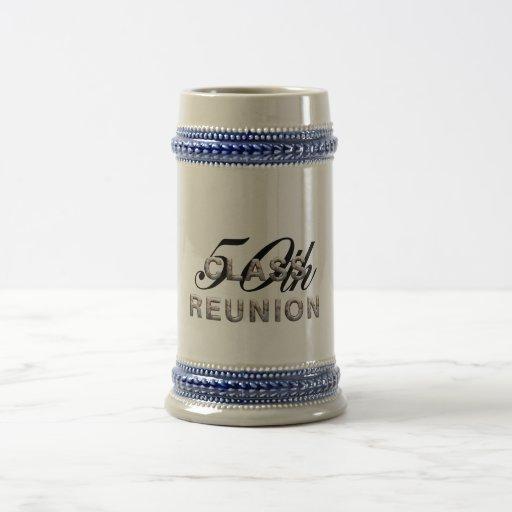 TEE 50th Class Reunion 18 Oz Beer Stein