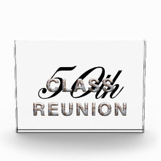 TEE 50th Class Reunion Acrylic Award