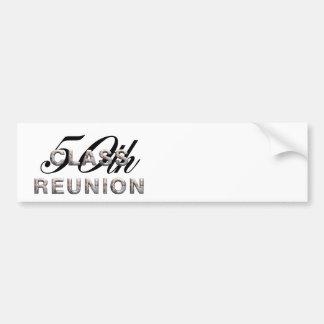 TEE 50th Class Reunion Bumper Sticker