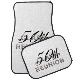 TEE 50th Class Reunion Car Floor Mat