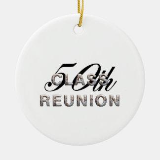 TEE 50th Class Reunion Ceramic Ornament