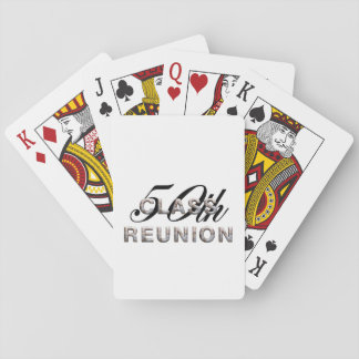 TEE 50th Class Reunion Deck Of Cards