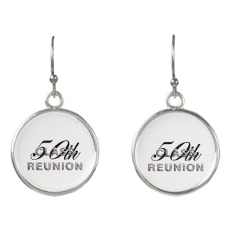 TEE 50th Class Reunion Earrings