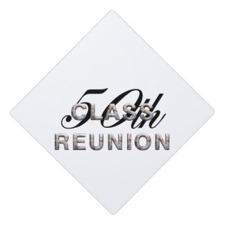 TEE 50th Class Reunion Graduation Cap Topper