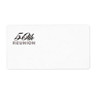 TEE 50th Class Reunion Label