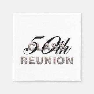 TEE 50th Class Reunion Disposable Napkins