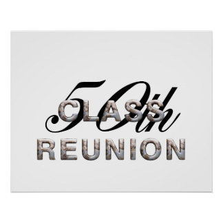 TEE 50th Class Reunion Poster