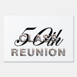TEE 50th Class Reunion Sign