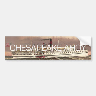 TEE Ahoy Bumper Sticker