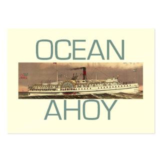 TEE Ahoy Large Business Card