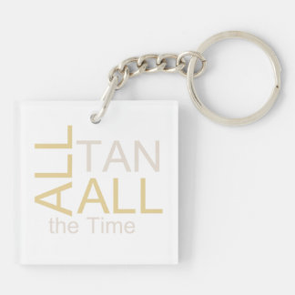 TEE All Tan All the Time Keychain