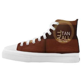TEE All Tan All Time High-Top Sneakers