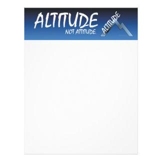 TEE Altitude, Not Attitude Flyer