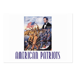 TEE American Patriots Business Card Template