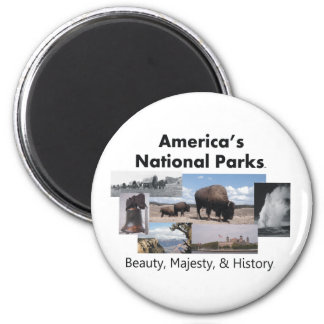 TEE America's National Parks Magnets