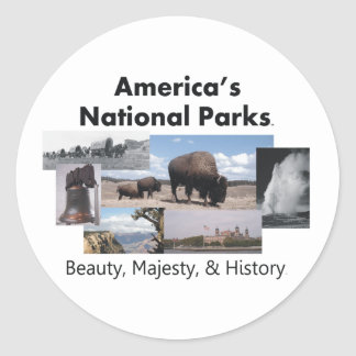 TEE America's National Parks Sticker