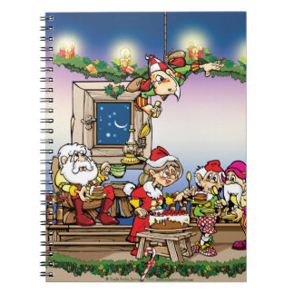Tee and Heddie's Christmas Writing Journal Notebook