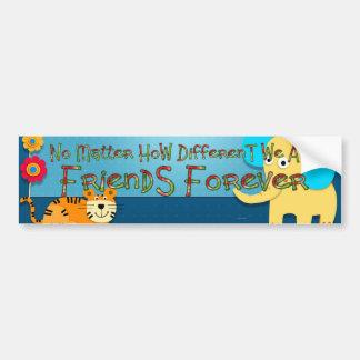 TEE Animal Friends Bumper Sticker