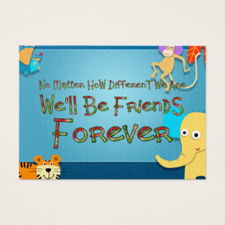 TEE Animal Friends Business Card