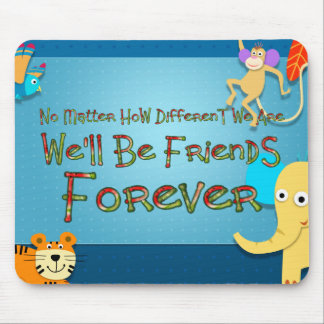 TEE Animal Friends Mouse Pad