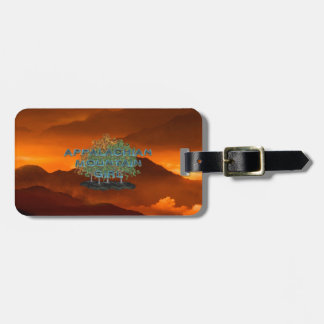 TEE Appalachian Mountain Girl Bag Tag