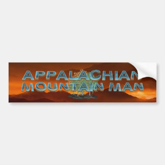 TEE Appalachian Mountain Man Bumper Sticker