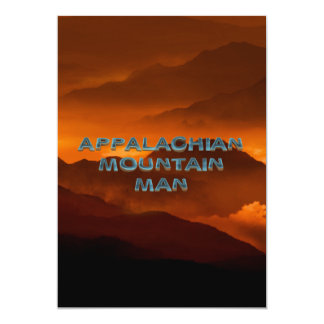 TEE Appalachian Mountain Man Card