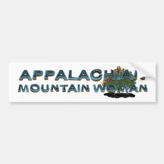 TEE Appalachian Mountain Woman Bumper Sticker